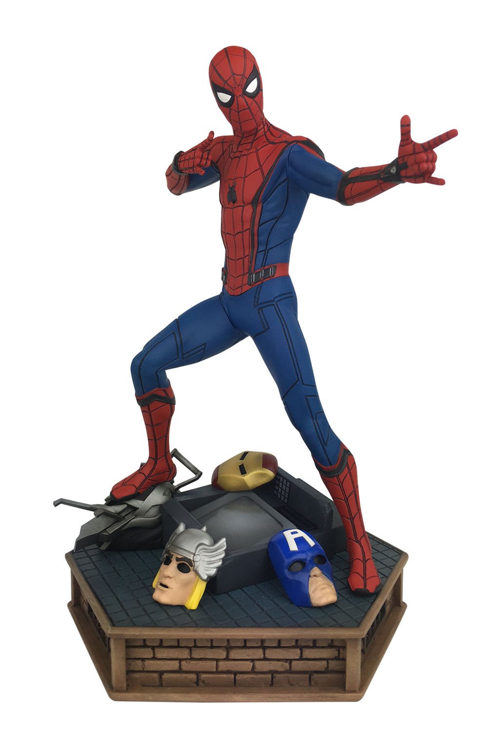 Spider-Man Homecoming PVC Vinyl Figure Diamond Comic Distributors AUG172644 DIAMOND SELECT TOYS Marvel Gallery
