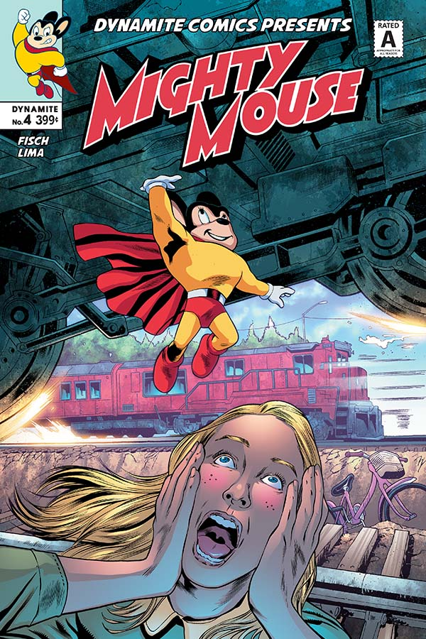 Preview: Mighty Mouse #4