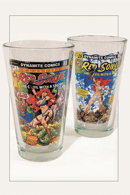 Dynamite Launches a Barware Kickstarter for Red Sonja, Vampirella, and Chaos Glasses