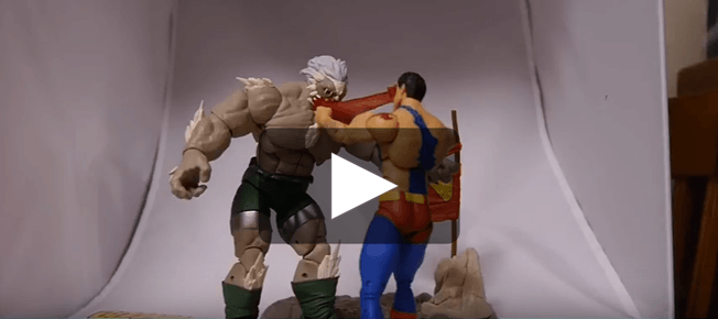 Unboxing Dc Icons The Death Of Superman Doomsday Superman