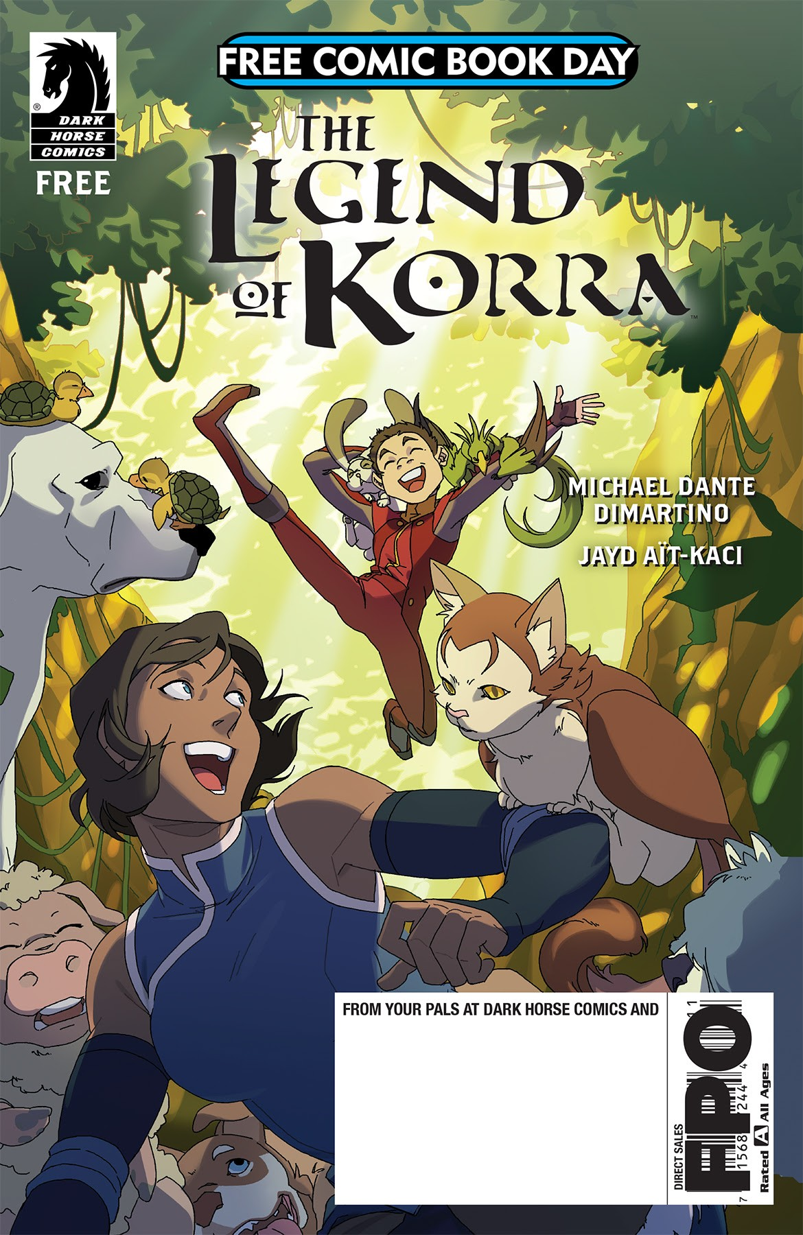 The Legend Of Korra Is Dark Horse S Free Comic Day 2018