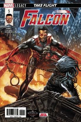 Falcon #5 cover