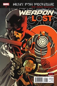 HUNT FOR WOLVERINE WEAPON LOST #1 1