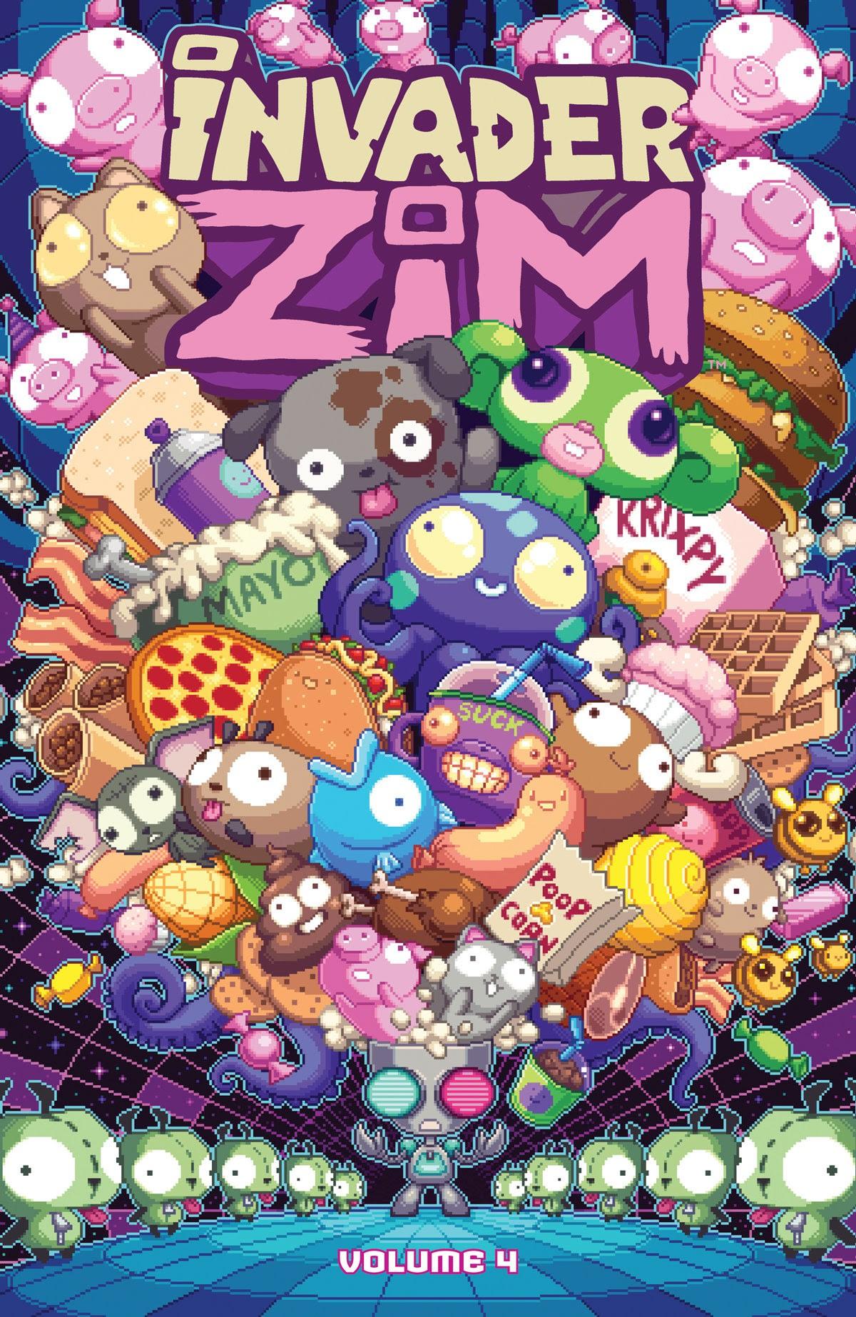 Invader ZIM Volumes 4