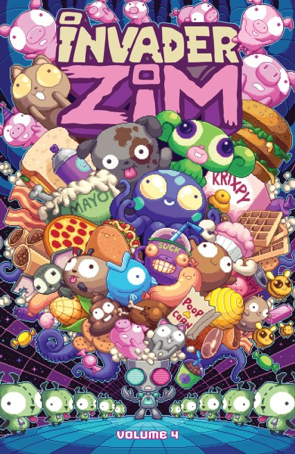 Invader ZIM Volumes 4