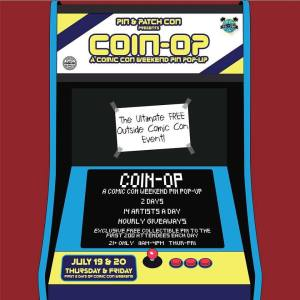 Pin Show featuring Comic Con Exclusives