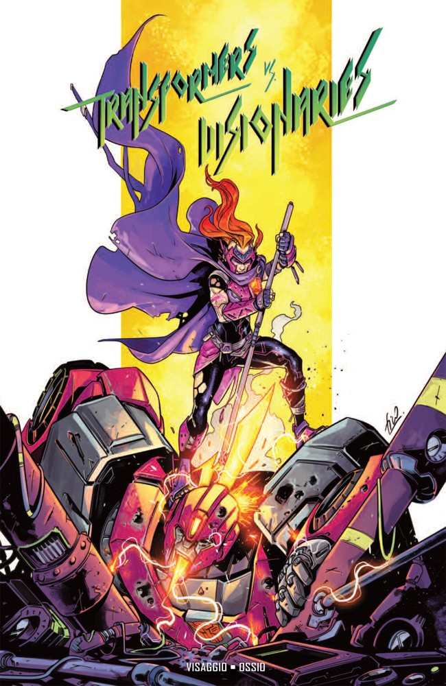 Preview: Transformers vs. The Visionaries