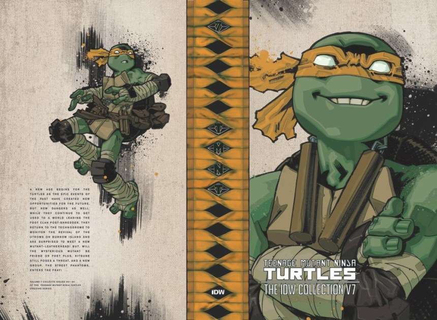 Teenage Mutant Ninja Turtles Ongoing Series HC O FC 4999 320 Pages 7 X 11 ISBN 978 1 68405 282 0