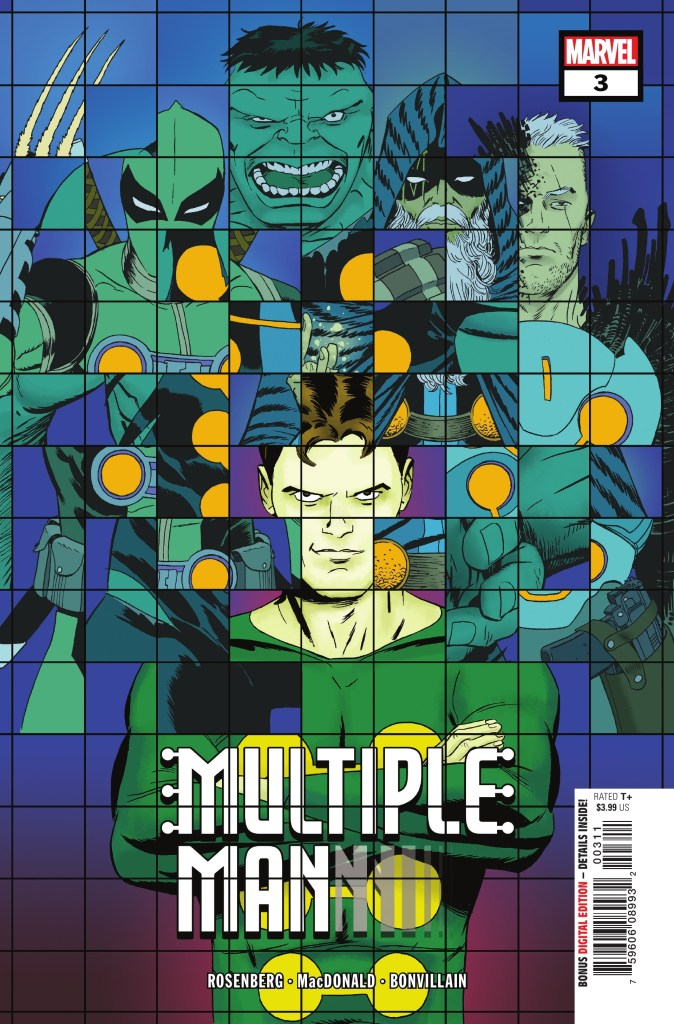 Multiple Man #3 Cover