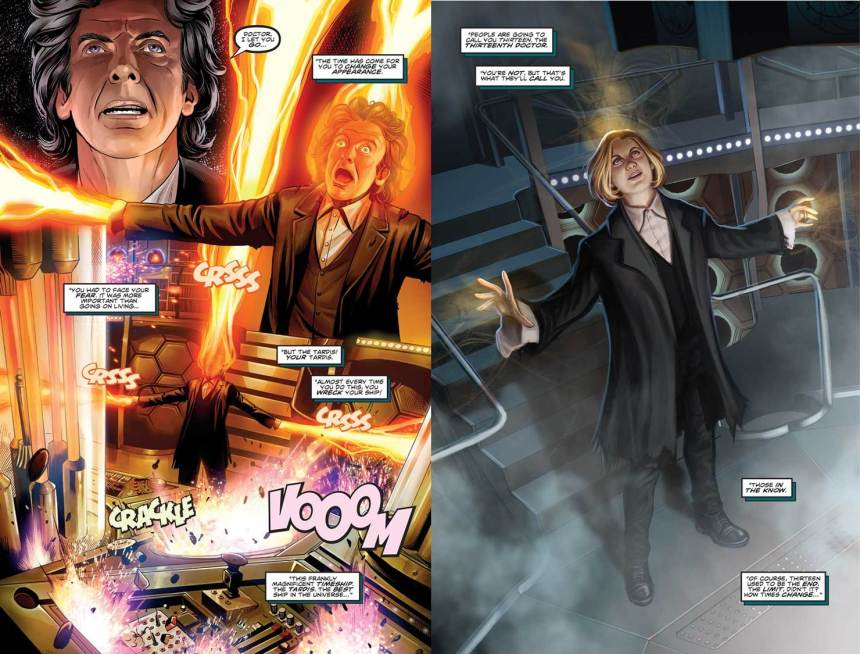 Doctor Who 0 regeneration