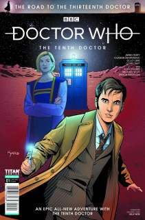 Doctor Who Road To The Thirteenth Doctor - Tenth Doctor #1 Con Exclusive