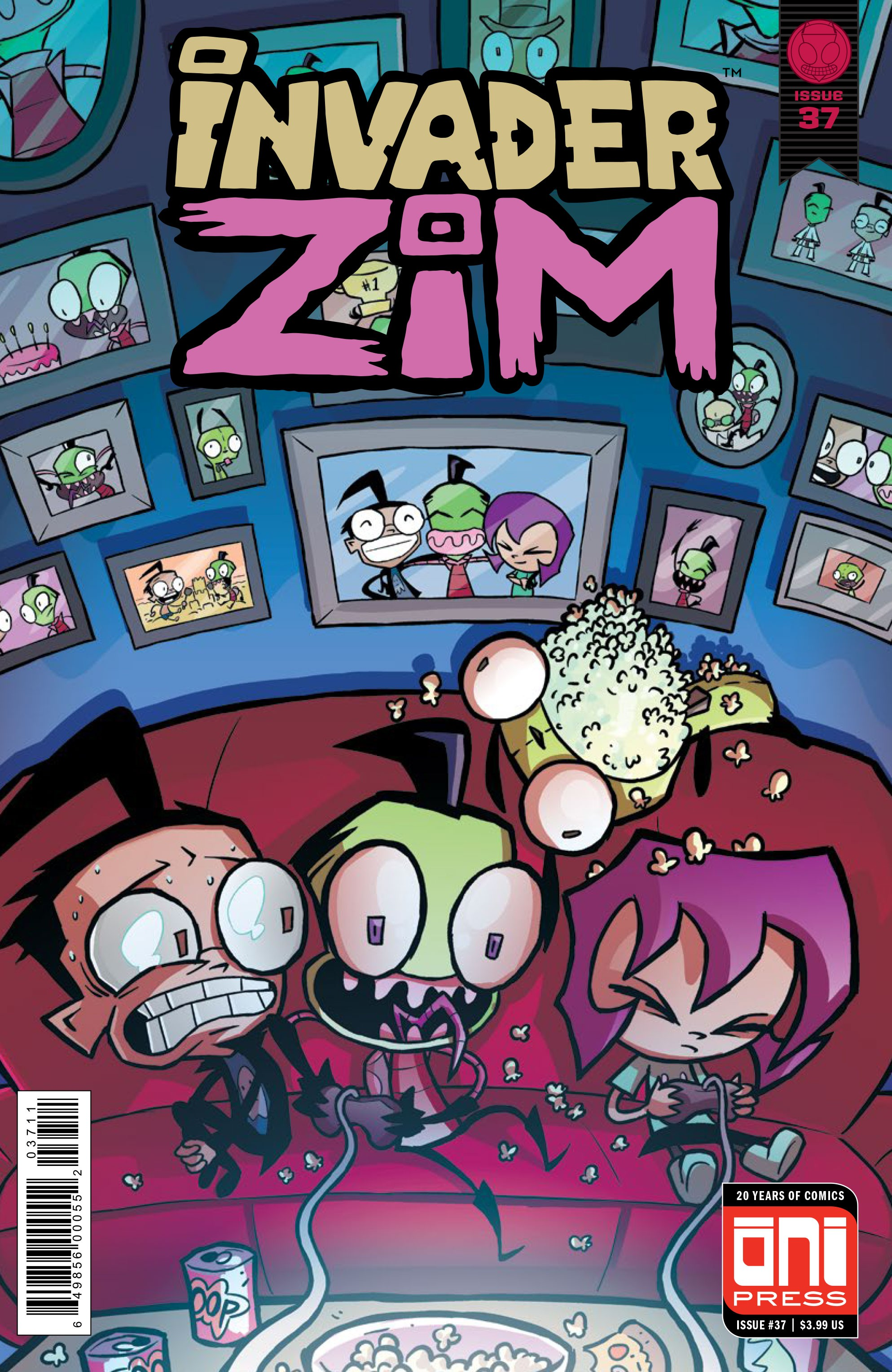 preview invader zim 37 graphic policy