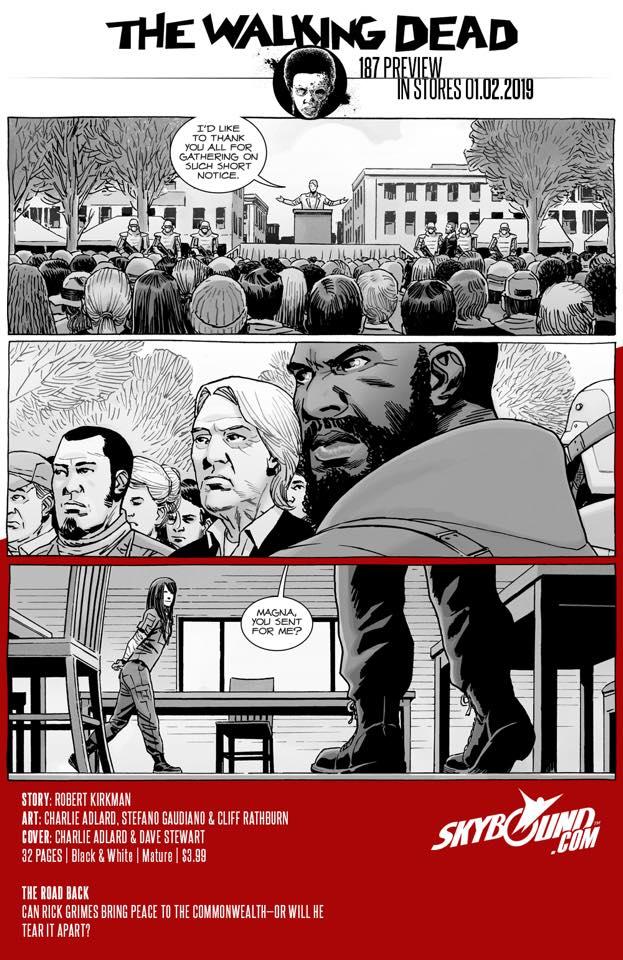 The Walking Dead #187