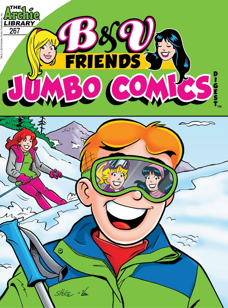 B&V FRIENDS JUMBO COMICS DIGEST #267