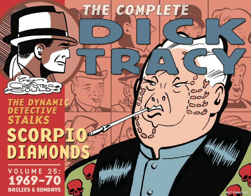 Complete Chester Gould's Dick Tracy, Vol. 25