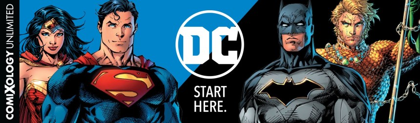 DC Comics comixology unlimited