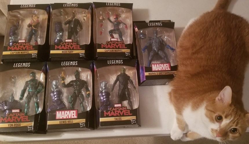 Captain Marvel Toy Assortment