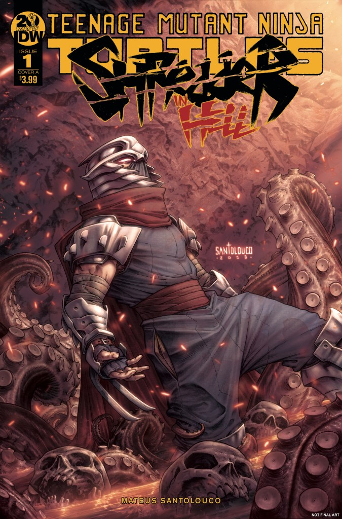 Teenage Mutant Ninja Turtles: Shredder in Hell #1