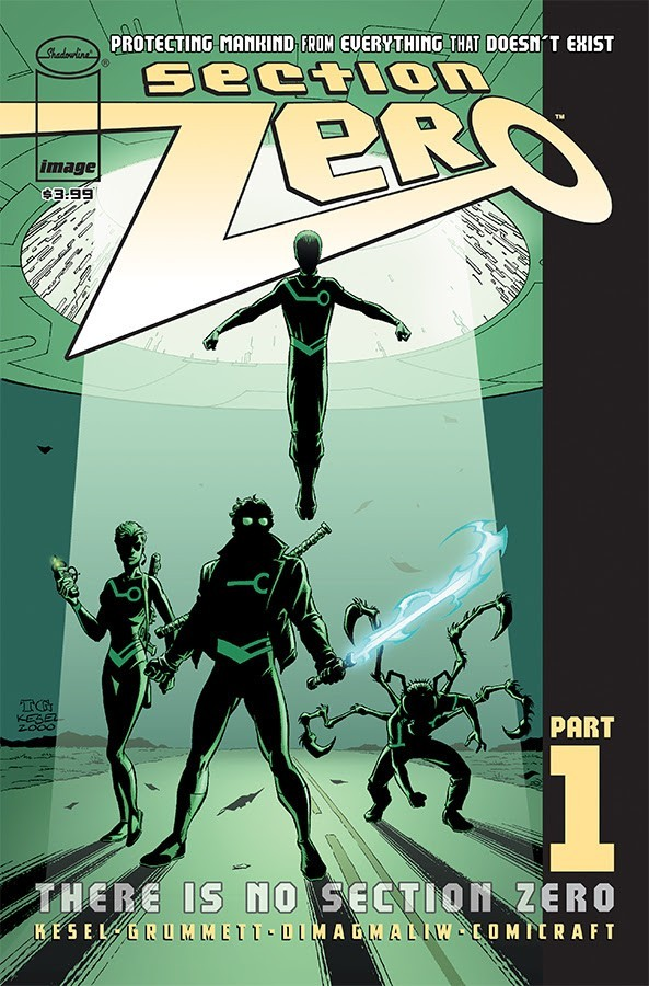 Section Zero #1 Cover A