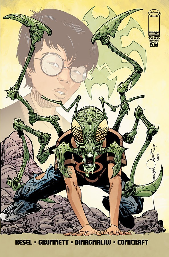 Section Zero #1 Cover B