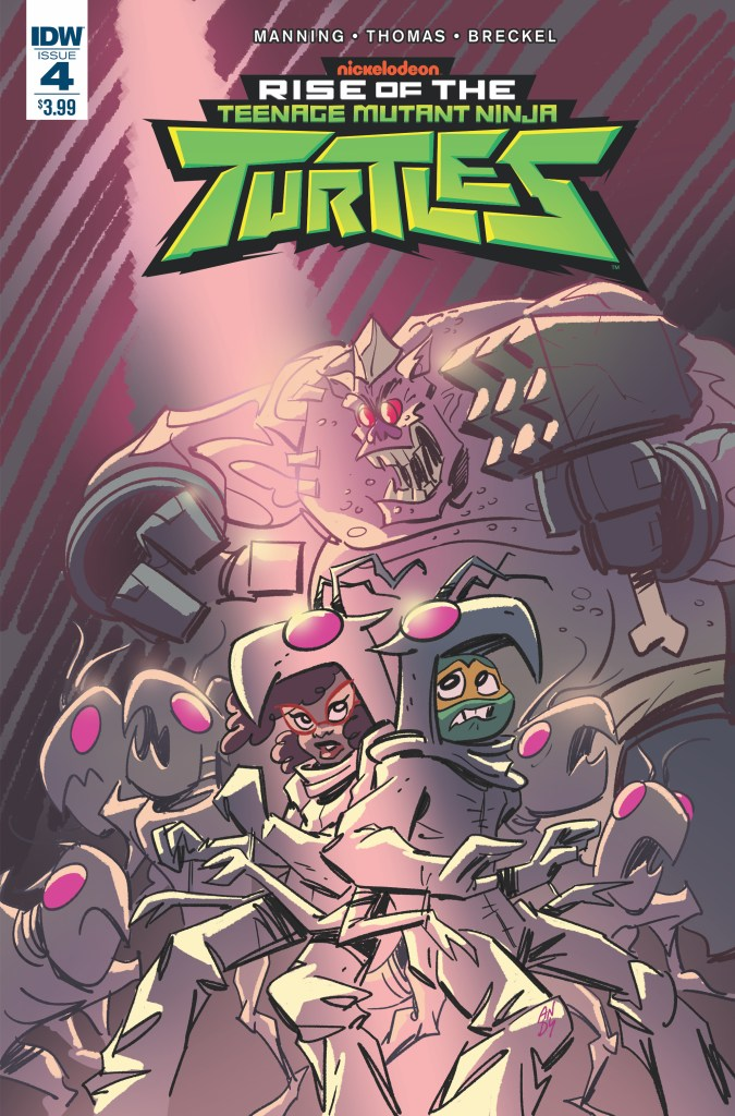 Rise of the Teenage Mutant Ninja Turtles #4