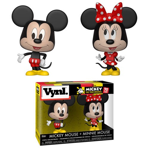 Vynl.: Disney - Mickey Mouse and Minnie Mouse