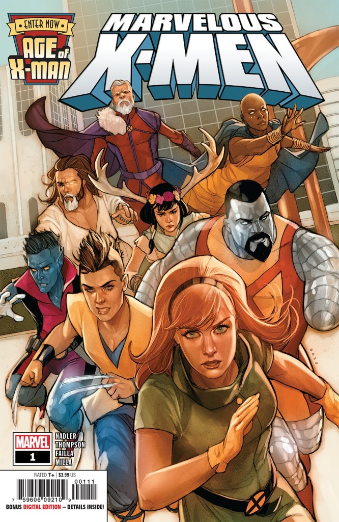 Age of X-Man: Marvelous X-Men #1