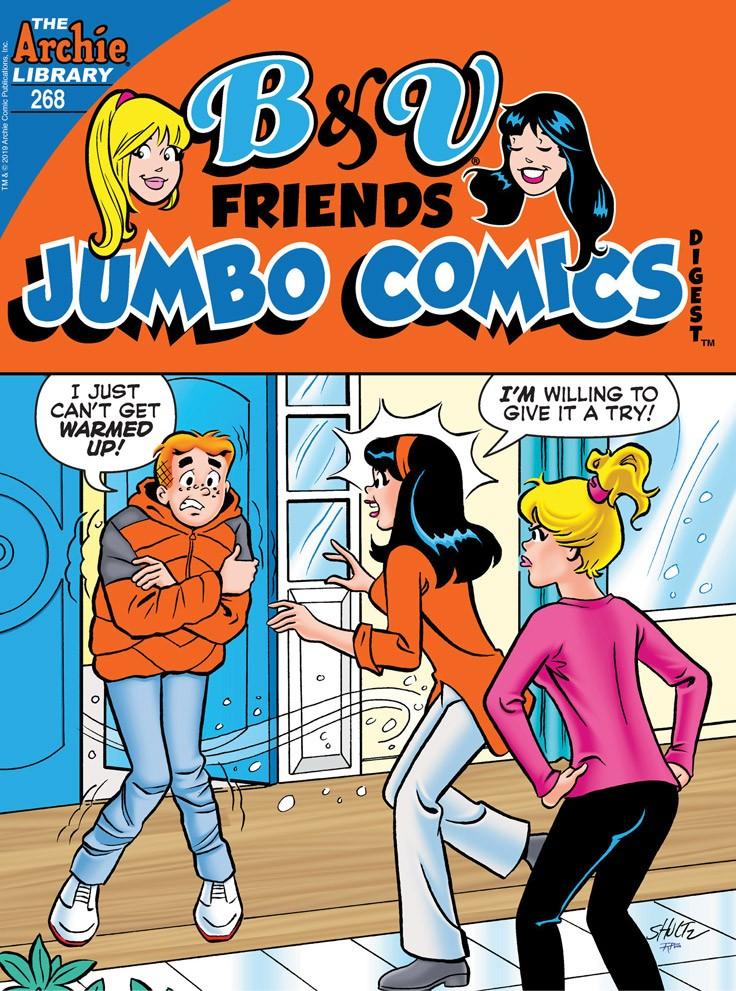 B&V FRIENDS JUMBO COMICS DIGEST #268