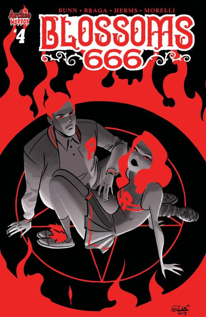 BLOSSOMS 666 #4 CVR B Var: Elsa Charretier