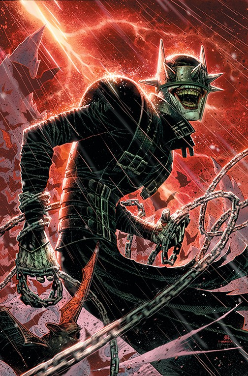 DC'S Year of the Villain Cheung Batman Who Laughs Variant