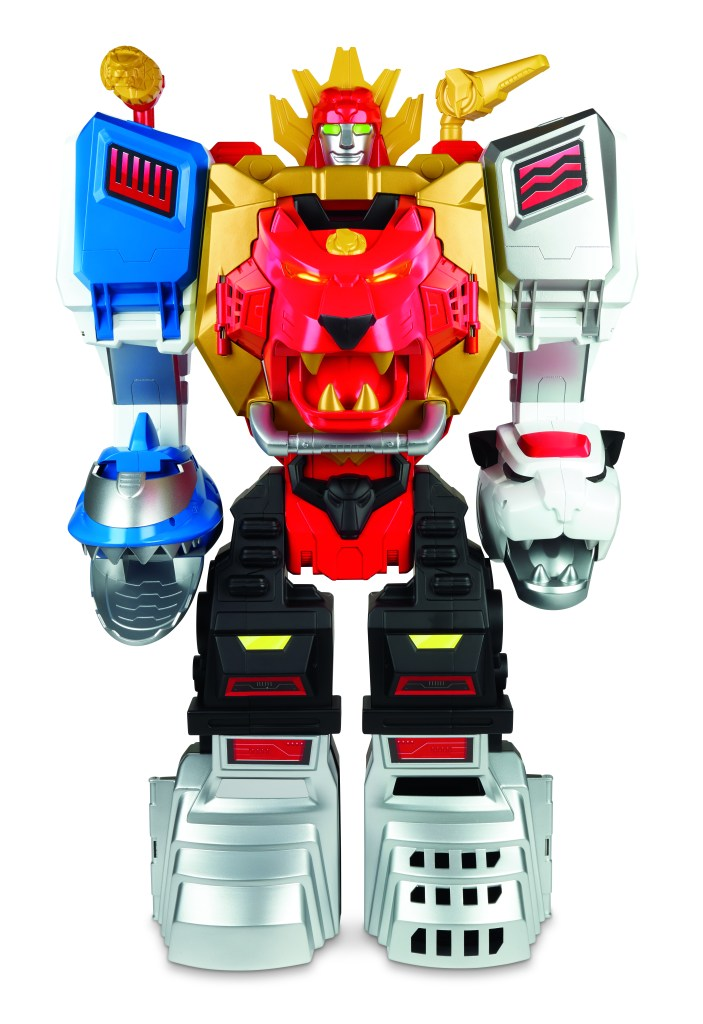 POWER RANGERS PLAYSKOOL HEROES POWER MORPHIN MEGAZORD Playset