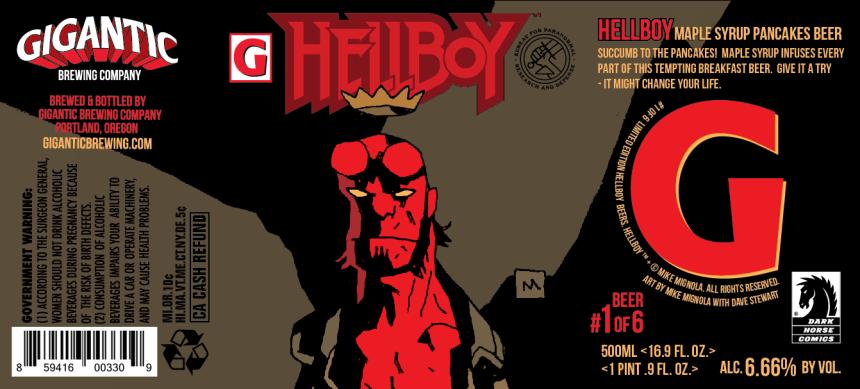 Hellboy - Maple Syrup Pancake Beer (6.66% abv)