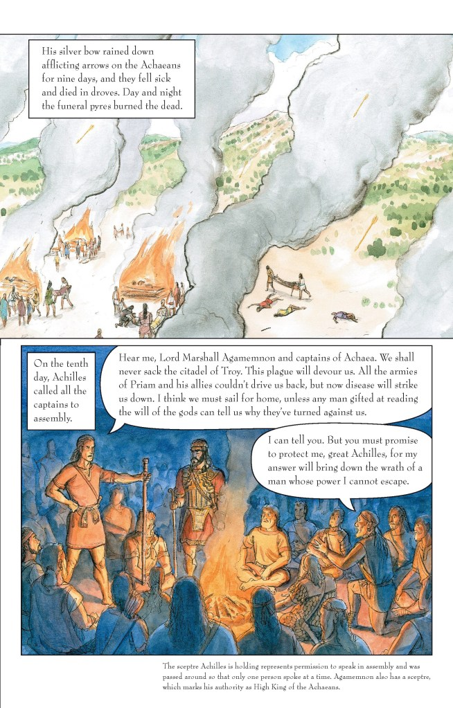 The Iliad page 2