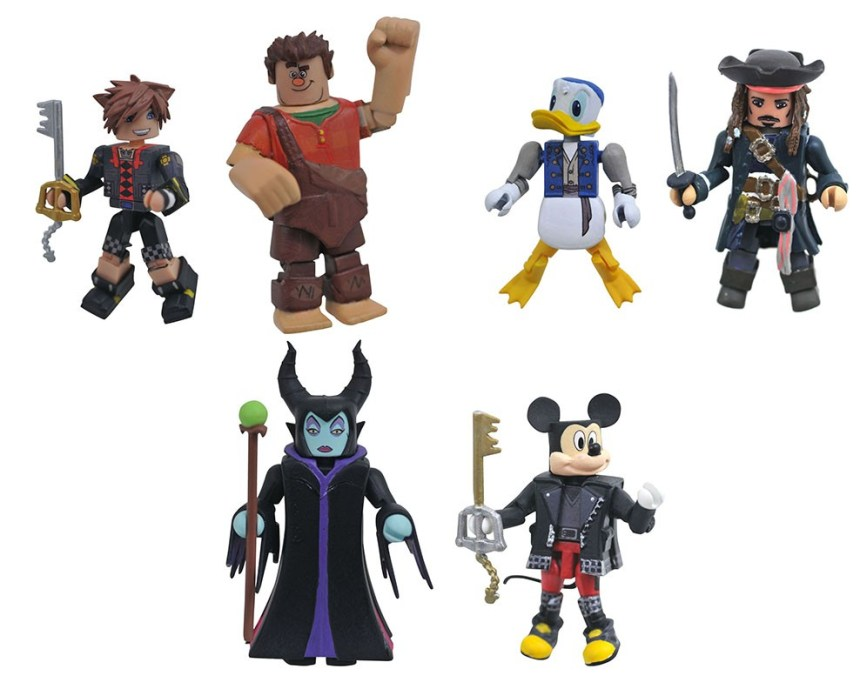 Kingdom Hearts Minimates Series 3 Asst.