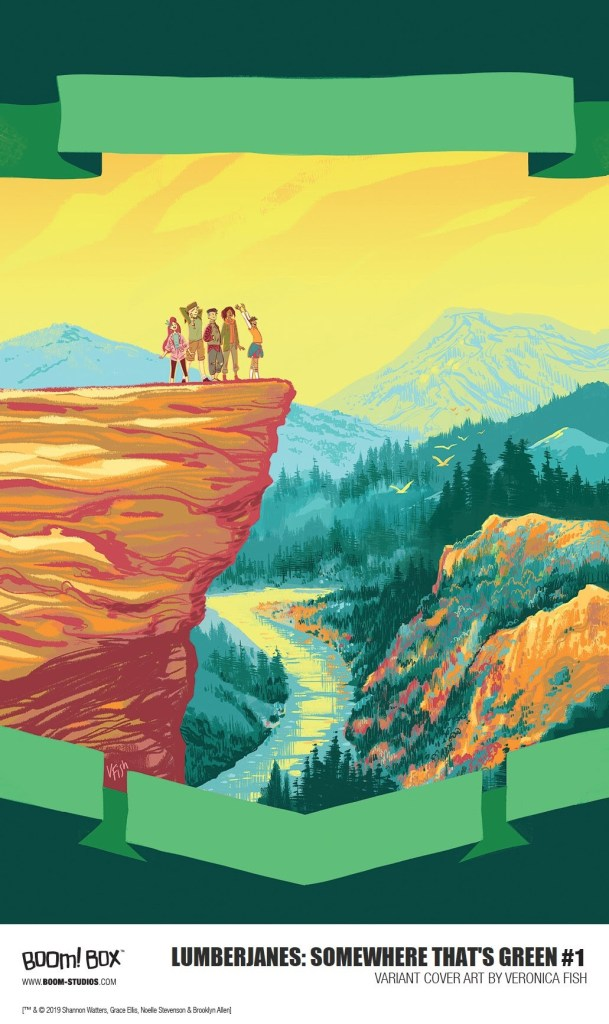 Lumberjanes: Somewhere That's Green #1 Veronica Fish cover
