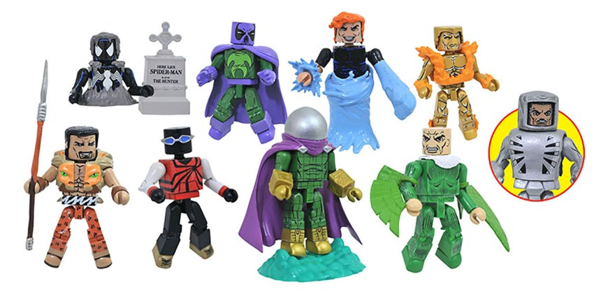 Marvel Minimates Series 77 Spider-Man 2-Packs Asst.