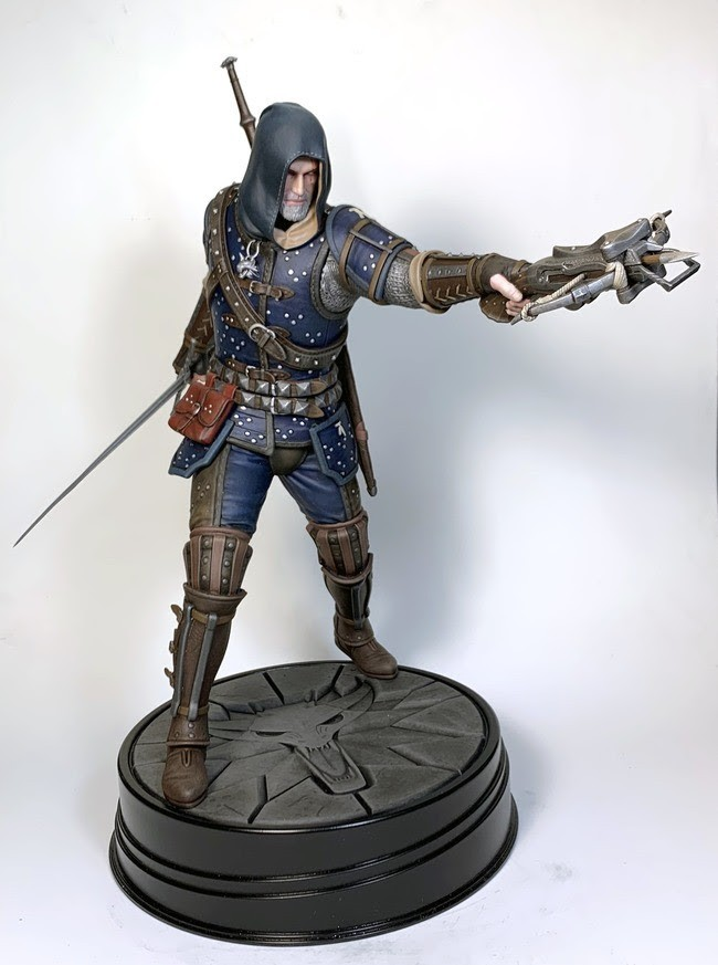 The Witcher 3: The Wild Hunt Geralt Statue