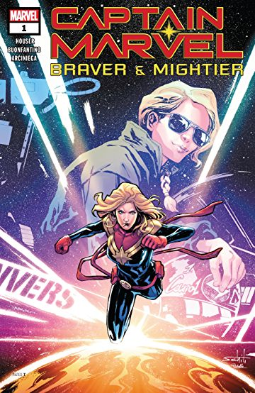 Captain Marvel Braver and Mightier #1
