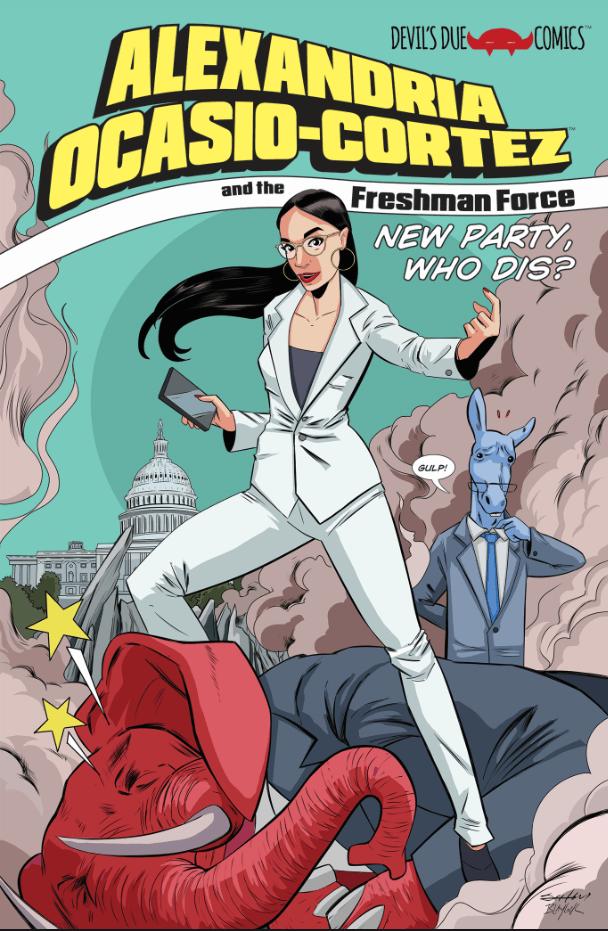 Alexandria Ocasio-Cortez And The Freshman Force