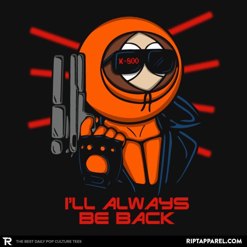I'll always be back