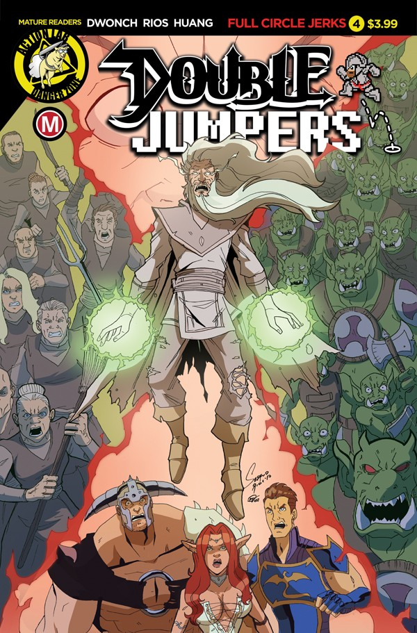 DOUBLE JUMPERS: FULL CIRCLE JERKS #4