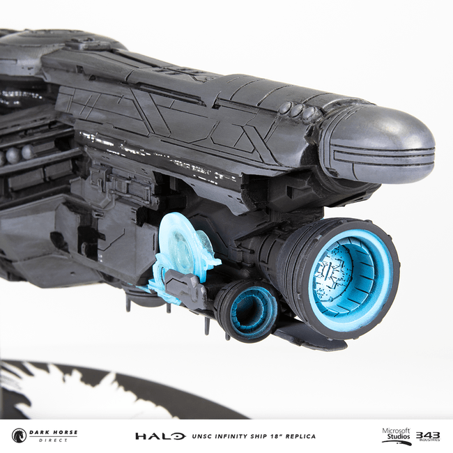 "HALO UNSC INFINITY SHIP 18"" REPLICA"