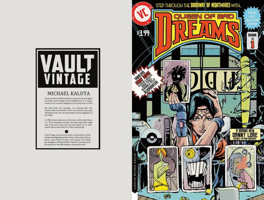 QUEEN OF BAD DREAMS #1 Vault Vintage