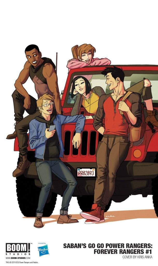 Saban's Go Go Power Rangers: Forever Rangers #1