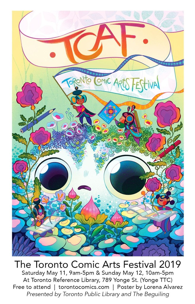 TCAF 2019 Official Poster by Featured Guest Lorena Alvarez
