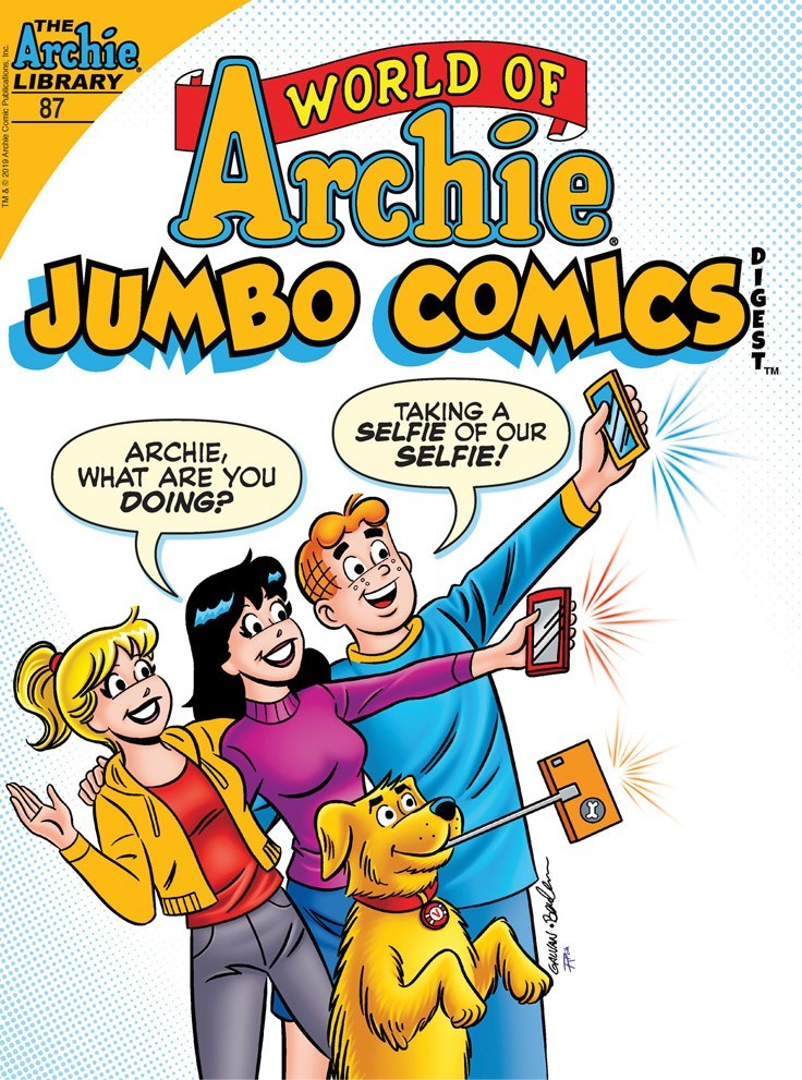 WORLD OF ARCHIE JUMBO COMICS DIGEST #87