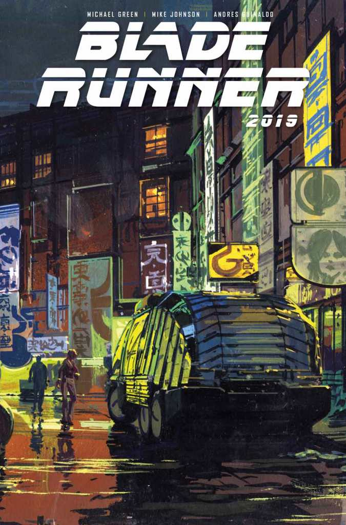 Blade Runner 2019 #1 Syd Mead Cover