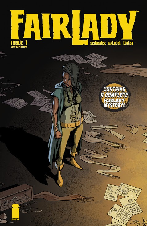 Fairlady #1, second printing