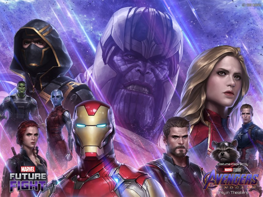 Marvel Future Fight Avengers: Endgame Event