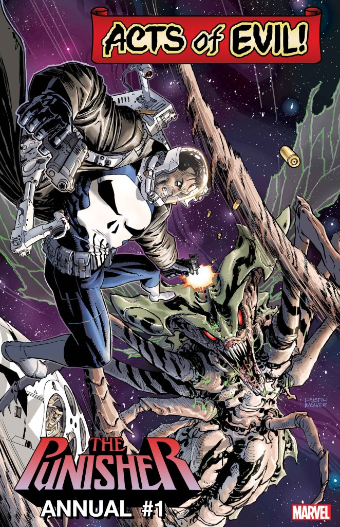 PUNISHER ANNUAL #1: PUNISHER VS. BROOD QUEEN